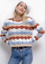 Bianca Striped Sweater- Beige