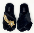 Astro Cross Slipper Black