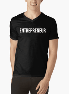 Entrepreneur V-Neck T-shirt