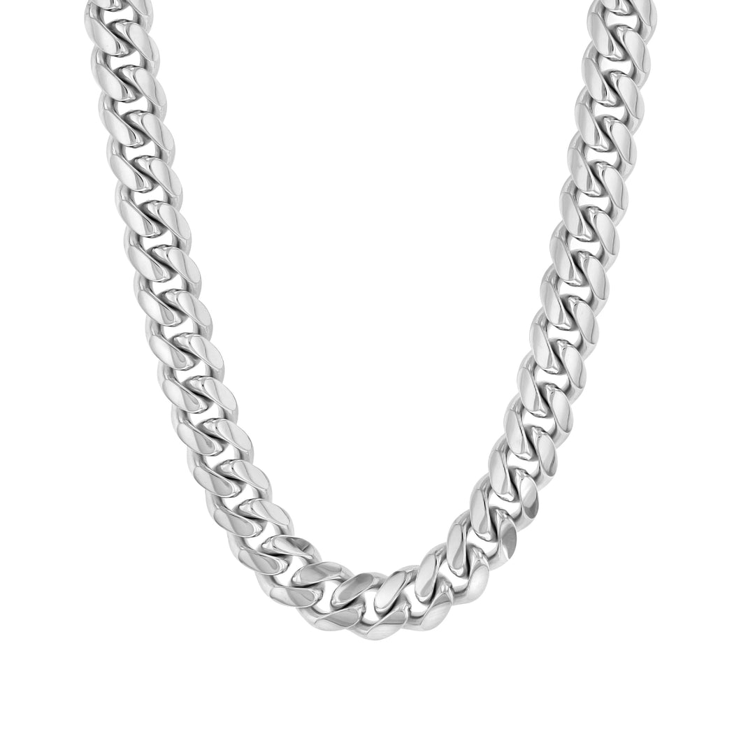 Sterling Silver Cuban Chain (7mm)