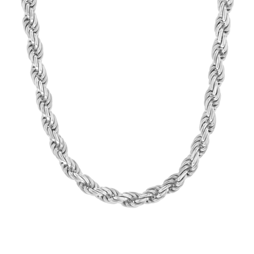 Sterling Silver Rope Chain (5mm)
