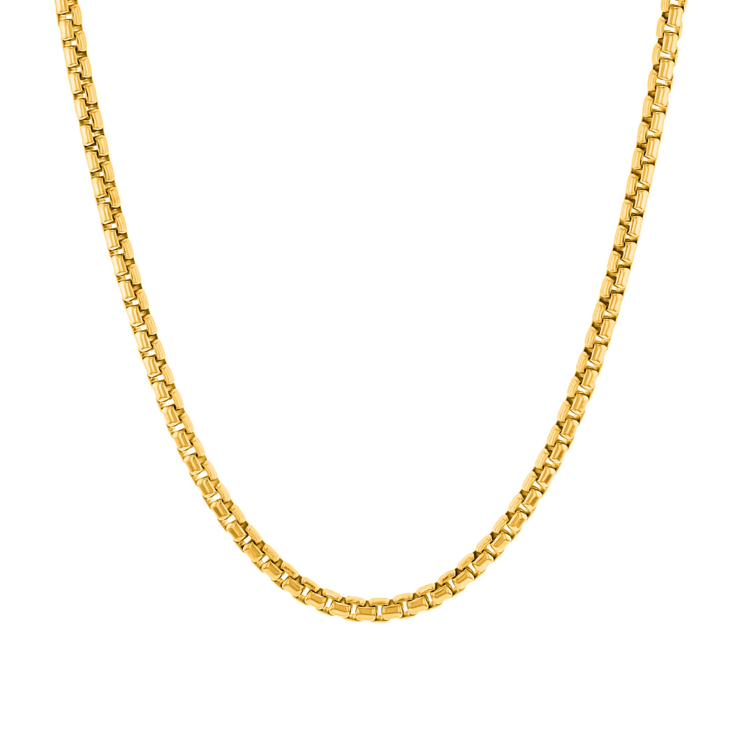 Round Box Chain (2.5mm)