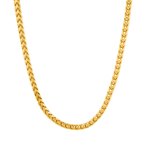 Sterling Silver Franco Chain (3mm)