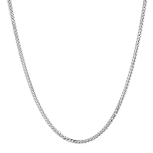 Sterling Silver Micro Cuban Chain (2mm)