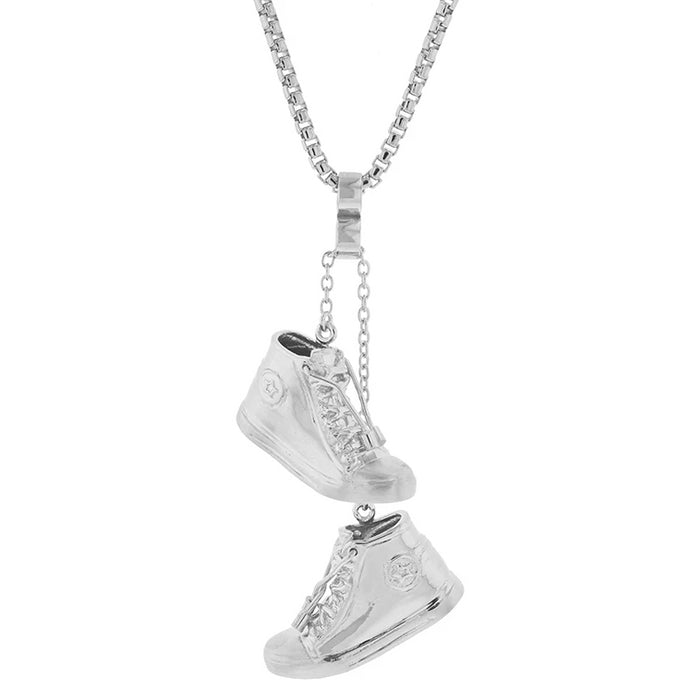 Sterling Silver Like Mike Pendant