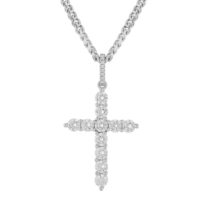 Sterling Silver Cross I Pendant