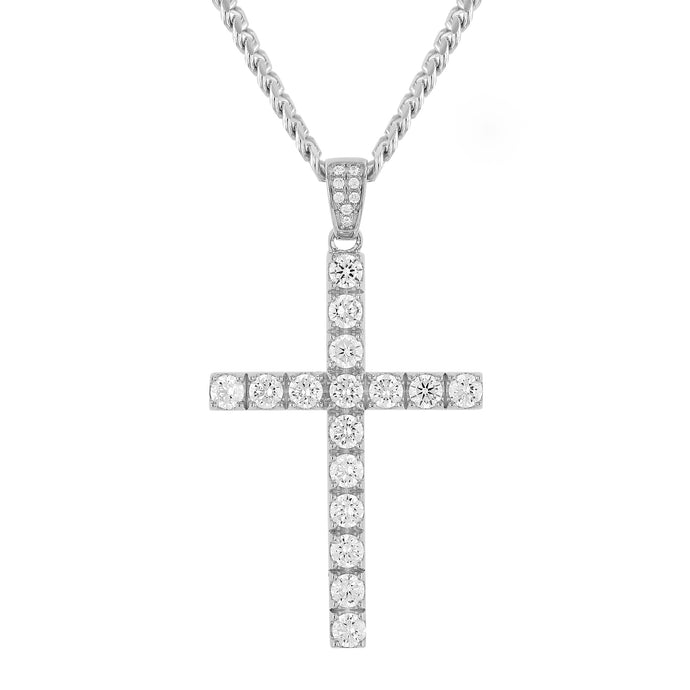 Sterling Silver Cross II Pendant