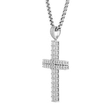 Load image into Gallery viewer, Sterling Silver Cross III Pendant