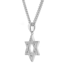 Load image into Gallery viewer, Micro Star Of David Pendant