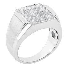 Load image into Gallery viewer, Satin Pave Set Ring