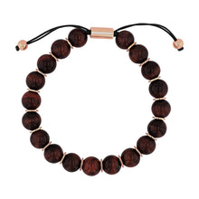 Load image into Gallery viewer, Red Tigers Eye Bead Bracelet