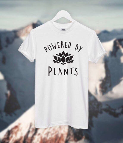 Powered By Plants Vegan T-shirt