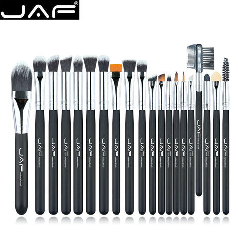 JAF 20 pcs Makeup Brush Professional Vegan