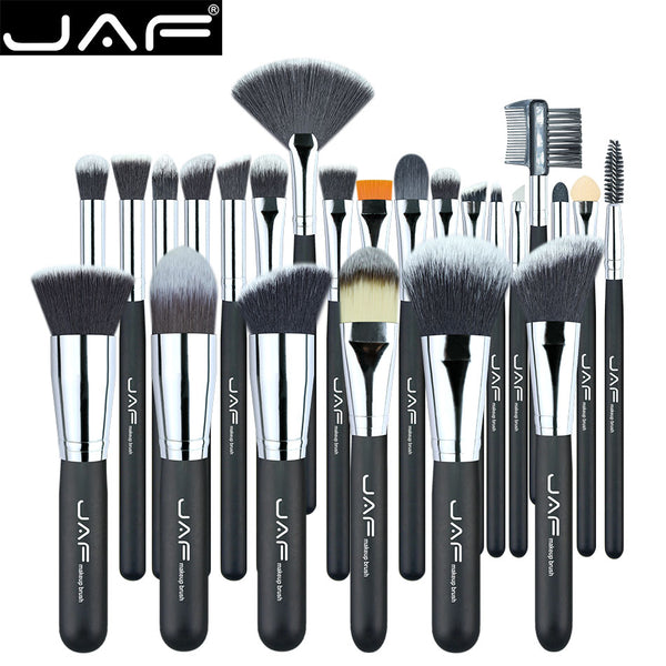 JAF Vegan 24pcs Professional Makeup Brushes