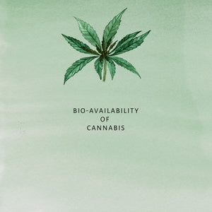 What is the bio-availability of cannabis?