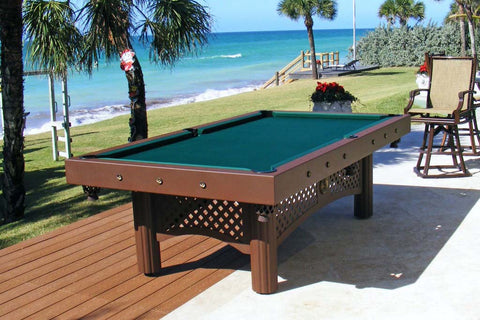Tuscany Outdoor Pool Table