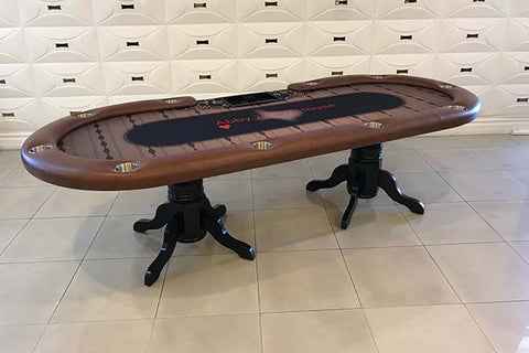 Pedestal 102 Texas Holdem Poker Table