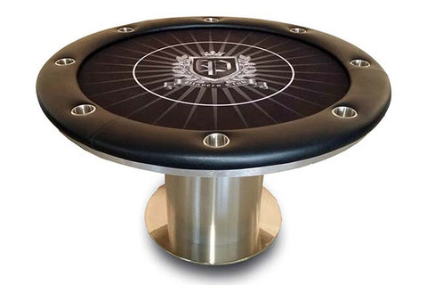 Nile Round Poker Table
