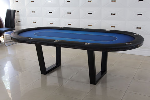 2 in 1 Manetho Texas Hold 'em Poker Table With Flip Dining Top