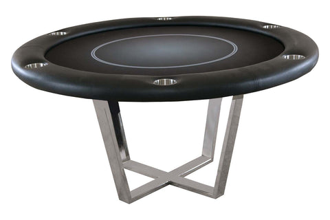 Manetho Round Poker Table