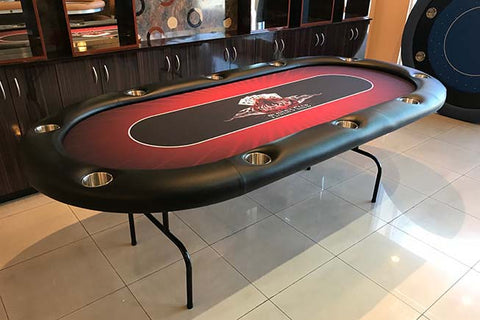 Pharaoh Folding Texas Holdem Poker Table