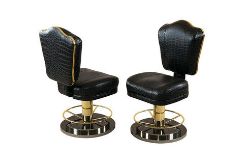 Pharaoh Poker Swivel Chair