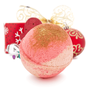 Frosted Cranberry Bliss Bath Bomb