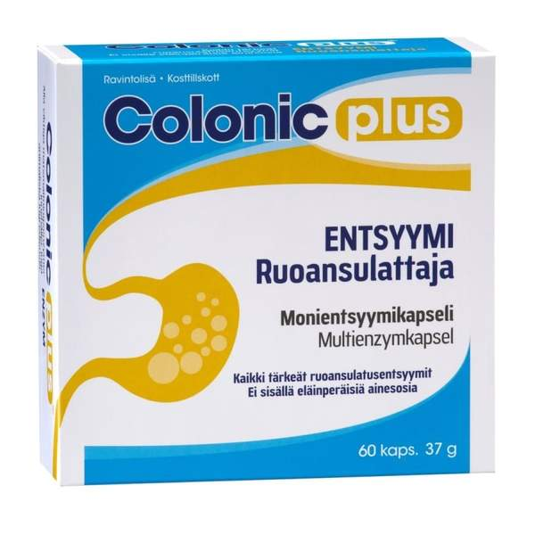 Colonic plus Entsyymi 60 kaps