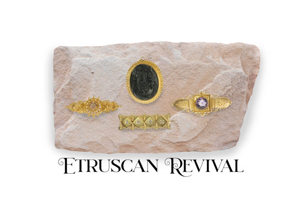 My favorite jewelry style- Etruscan Revival