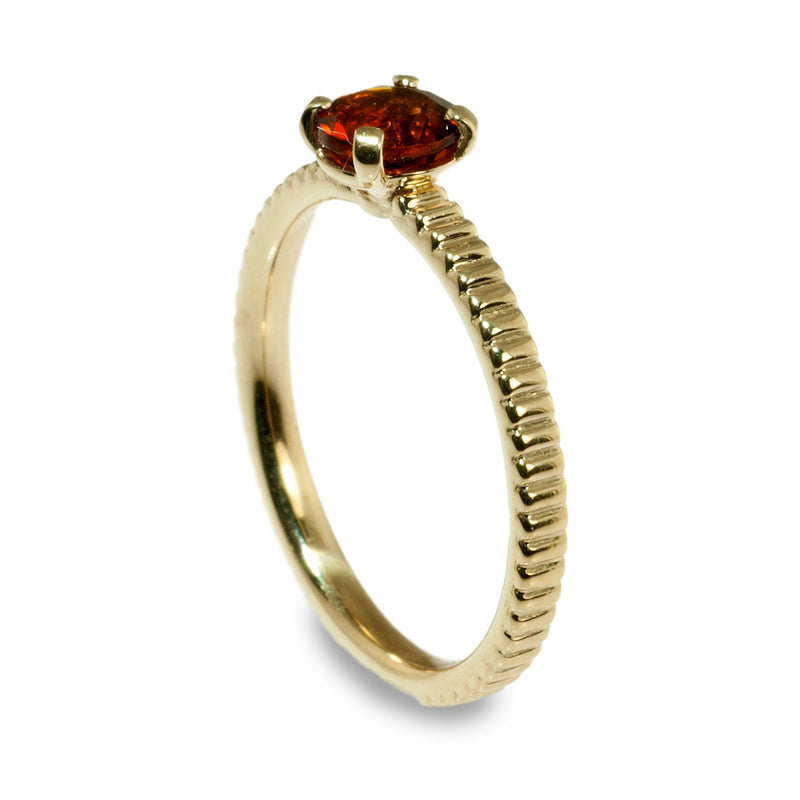 Citrene coin edge stacking ring