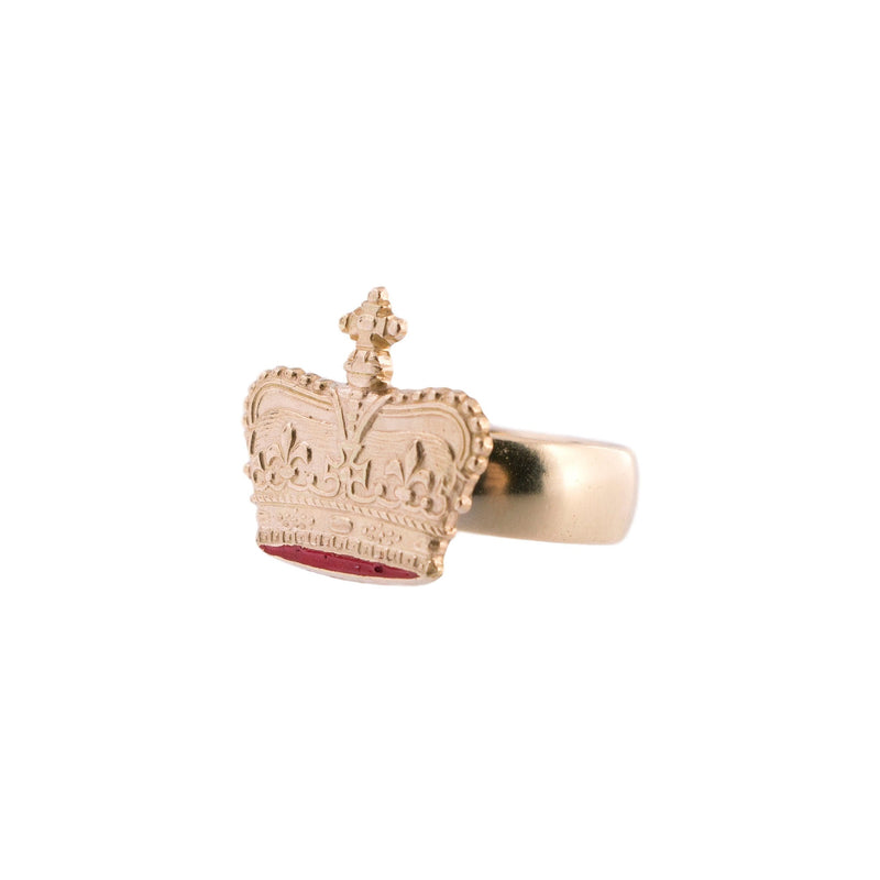 Fit For Royalty Crown Ring
