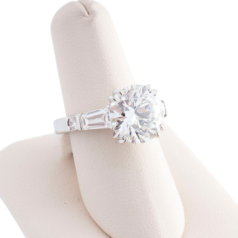 Platinum 4.25ct Diamond Engagement Ring