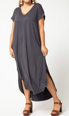 Maxi Dream Dress ~ Charcoal