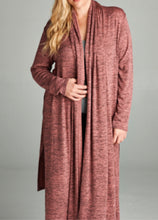 Load image into Gallery viewer, Toasted Mauve Cardi