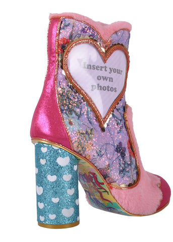Irregular Choice Picture Perfect Stiefel Rosa