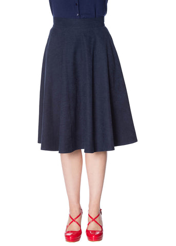 Banned Sophicated Lady 50's Swingrock Navy