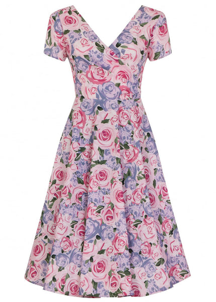 Collectif Maria Country Garden 50's Swing Kleid