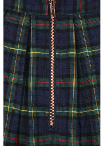 Banned Tartan Dreams 40's Swingrock Grün