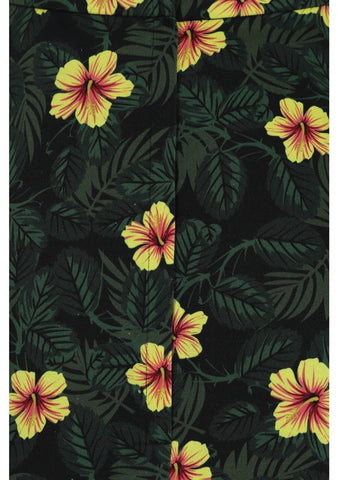 Collectif Matilde Tropical Hibiscus 50's Swingrock Multi