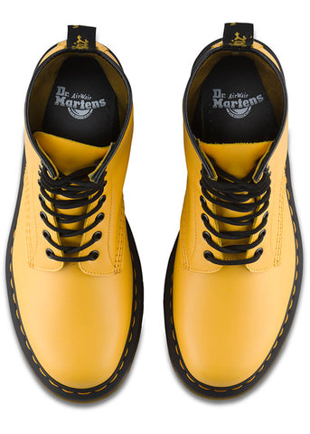 Dr. Martens 1460 Colour Pop Smooth Schnürstiefel Gelb
