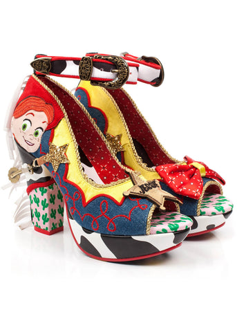 Irregular Choice Toy Story Rootinest Tootinest Cowgirl Slingpumps