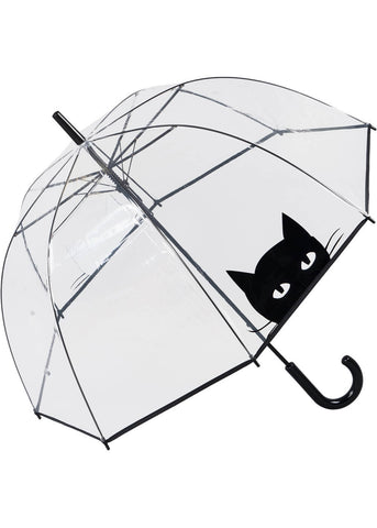 Loving Rain Dome Regenschirm Peeping Cat