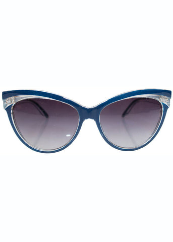 Collectif Judy 50's Sonnenbrille Navy