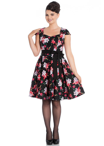 Hell Bunny Liliana 50er Swingkleid