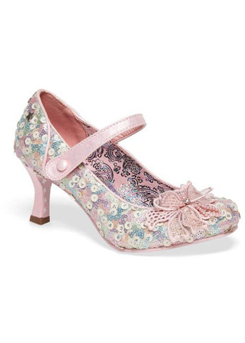 Joe Browns Couture Katherina Sequins 60's Pumps Rosa