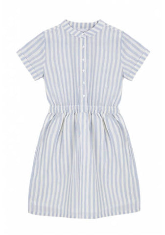 Compania Fantastica High Summer Stripes Kleider Blau