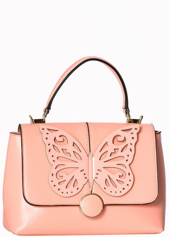 Banned Papilio Butterfly Handtasche Rosa