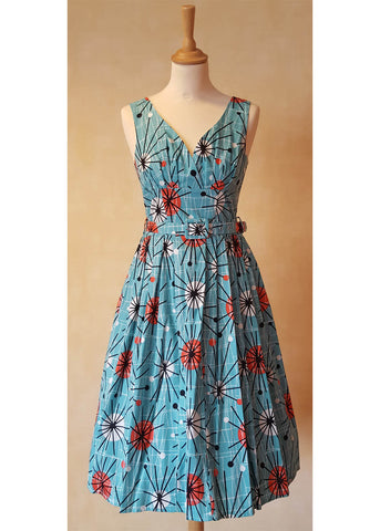 Victory Parade Retro Frock Atomic 50er Kleid