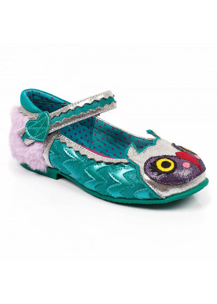 Irregular Choice Kids Mini Harold Uil Schuhe Blau