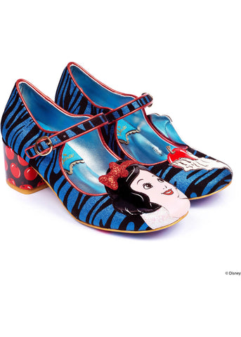 Irregular Choice Snow White An Apple A Day Pumps Blau Rot